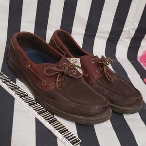 Rockport mens loafers brown 11m